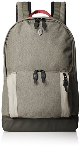 Victorinox Classic Laptop Backpack Poliéster Oliva Mochila - Mochila para portátiles y netbooks (Poliéster, Oliva, Monótono, Unisex, 280 mm, 180 mm)