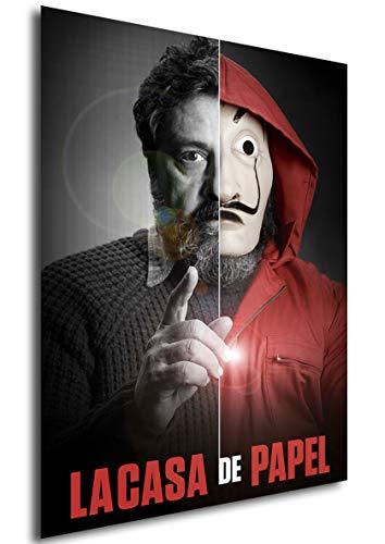 Instabuy Poster La casa de Papel - Mask Moscu - A3 (42x30 cm)
