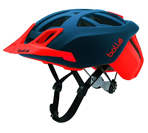 Bollé The One MTB, Casco Ciclismo Unisex – Adulto, Navy Red Matte, Small 51-54 cm