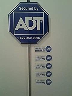 adt home security signs for sale
