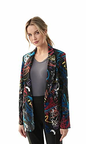Joseph Ribkoff Black/Multi Jacket Style 213577 (14)