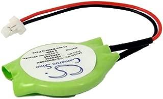 C & S 200mAh 02K6502 CMOS Battery for IBM Thinkpad 600E 2645-8AU, Thinkpad 600E 2645-AAU, Thinkpad 600X