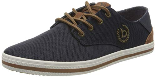 bugatti Herren 321502056900 Sneaker, Blau, 42 EU