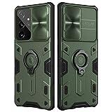Nillkin Galaxy S21 Ultra Case, CamShield Armor Case with