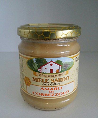 ANTICA APICOLTURA GALLURESE PREMIATO Miele di corbezzolo sardo - Prodotto in Sardegna - Grammi 250