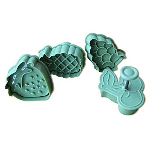 Ruluti 2016 Fondant Frutta Forma Stampo Cake Cutter Biscotti Sugarcraft Decorating Tool Cake Tools Tools Accessori da Cucina