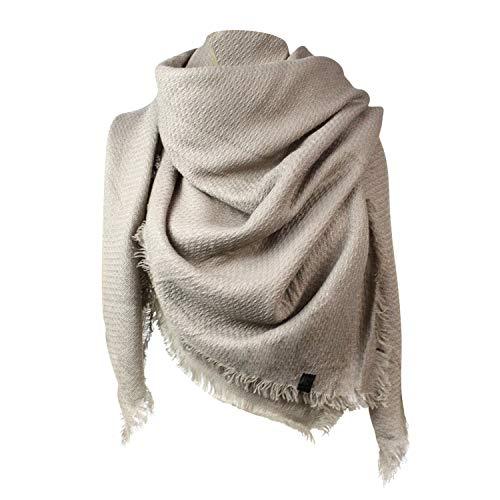 Glamexx24 XXL Schal Kuschelige, warme und wunderschöne Damen Poncho Schal mit verschiedenen Muster Schal Poncho