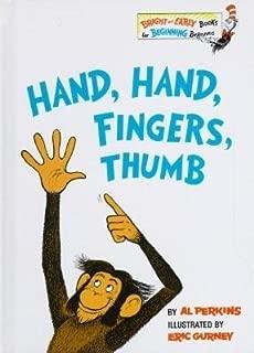 Hand Hand Fingers Thumb[HAND HAND FINGERS THUMB][Hardcover]