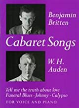 Cabaret Songs (Faber Edition)