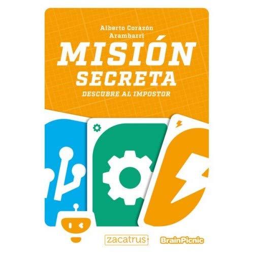 Brain Picnic Mision Secreta - Juego de Mesa Castellano