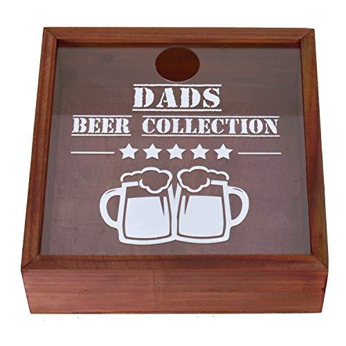 Unbekannt Dads Beer Collection Kronkorkensammler - Dekoobjekt Deko Artikel Deko Objekt