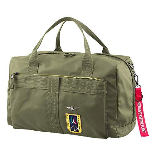 Aeronautica Militare Borsone misura bagaglio a mano linea Frecce colore VERDE