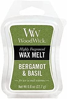 WoodWick Bergamot & Basil 0.8 oz. Mini Hourglass Wax Melt