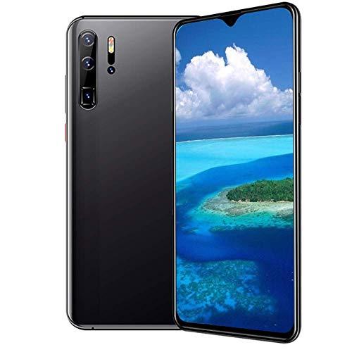 Handy, P30pro (2020) Android 10.0 Kostenloses Smartphone entsperrt 2 Kartensteckplätze mit 6,3 Zoll Touchscreen, 6GB RAM + 128GB, 24MP + 13MP Face ID