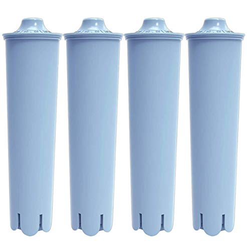 Water Filter Compatible with Jura Claris Blue Filter Replacement for Clearyl Coffee Machines (4 Packs) Compatible with Jura Capresso F8, J9, Z7, Z9, GIGA 5, ENA