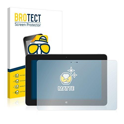 BROTECT 2X Entspiegelungs-Schutzfolie kompatibel mit Dell Venue 11 Pro 5130 (2013-2014) Bildschirmschutz-Folie Matt, Anti-Reflex, Anti-Fingerprint