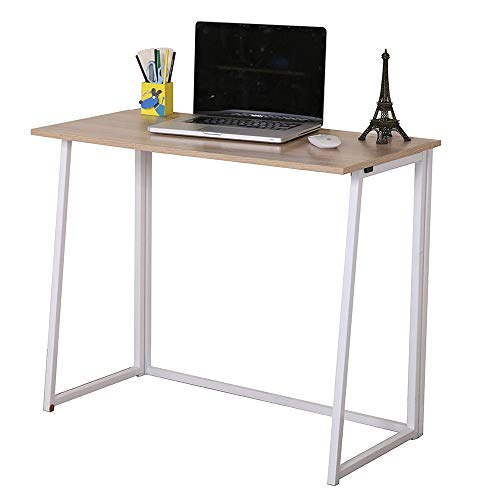 GreenForest Folding Computer Desk Small Home...