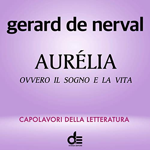 Aurélia audiobook cover art