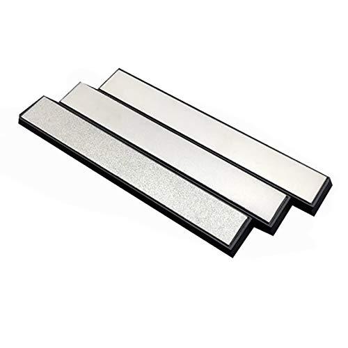 Kamenda - Afilador de cuchillos de cocina, 3 piezas, piedras de afilar diamante para sistema de afilado de cuchillos Ruixin Pro 240/800/200
