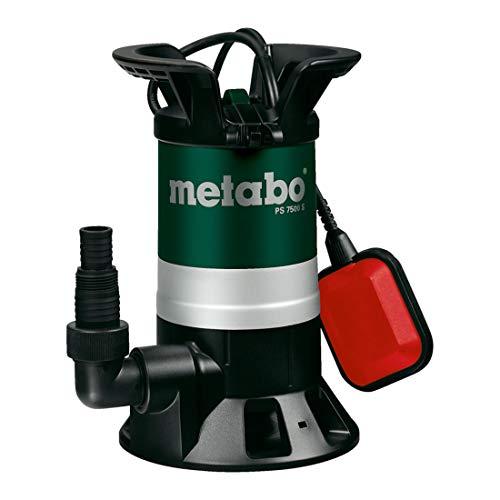 Pompe submersible pour eaux chargées Metabo PS 7500 S 450 W