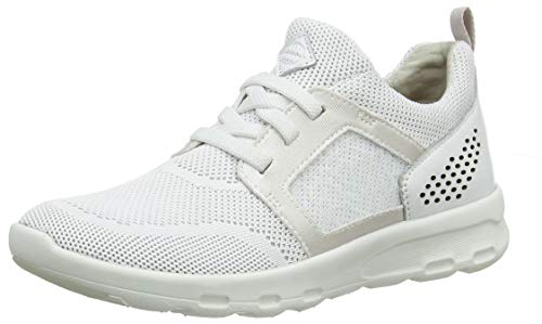 Rockport Women's Low-Top Trainers, White (White 001), 37