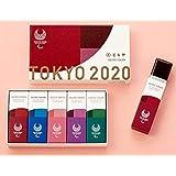 とらや 虎屋 東京2020 パラリンピックエンブレム 小倉羊羹 1袋(5本入)とらやの紙袋つき
