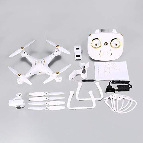 Attop W9 5G WiFi GPS 1080P FPV Camera Drone con modalità Senza Testa Altitudine Hold, Bianco
