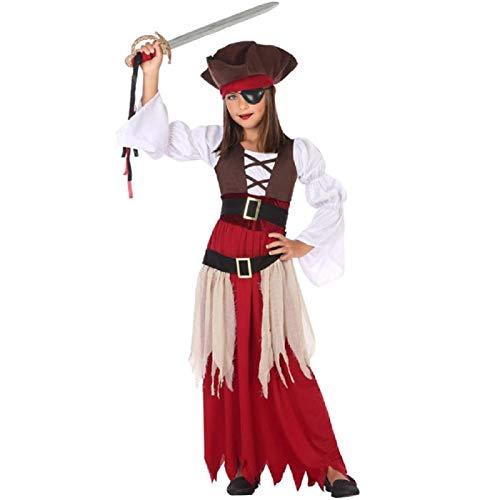 Atosa Déguisement Fille Pirate des Caraibes