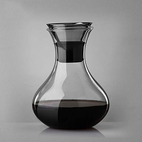 ZRWZZ Snelle decanter loodvrij glas wijn opslagpot Home High-end wijndispenser vorm unieke wijnaccessoires