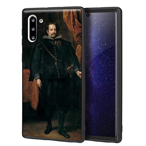 Anthony Van Dyck Para Samsung Galaxy Note 10 Carcasa/del teléfono celular de arte del teléfono celular de arte/Impresión Giclee en la cubierta del móvil(Diego De Mexía Marquess of Leganes)