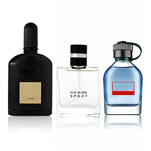 Parfum pour homme 4 * 25 ml - 4 parfums différents, parfait pour votre père, petit ami ou autre ami masculin