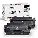 SMARTOMI CE505X CE505A Compatibles con HP CE505X 05X Cartucho Toner Para LaserJet P2050 P2055 P2055d P2055dn Pro 400 MFP M425dn MFP M425dw M401a M401d M401dn CF278A M401dne CF399A M401dw CF285A