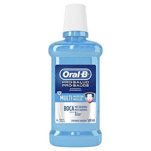 Antisséptico Oral-B Pro-Saúde Multiproteção Menta, 500 ml