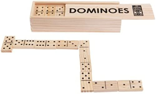 Boxed Wooden Domino Set by Lagoon Group