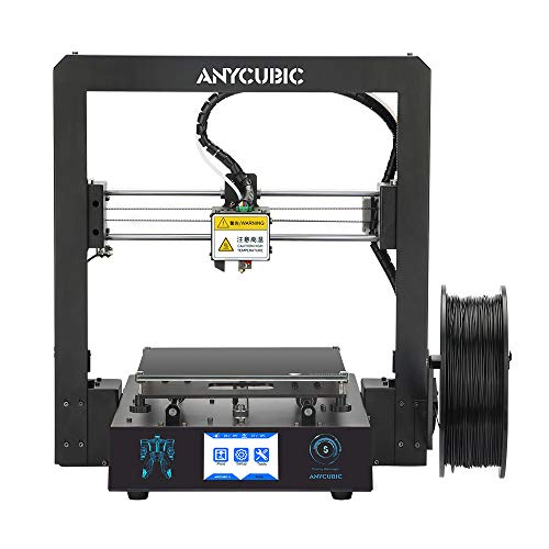 TRIGORILLA ANYCUBIC Mega-S 3D Printer Updated Extruder suitable for flexible Filament Fully Metal Structure with Patent Ultrabase Heatbed DIY