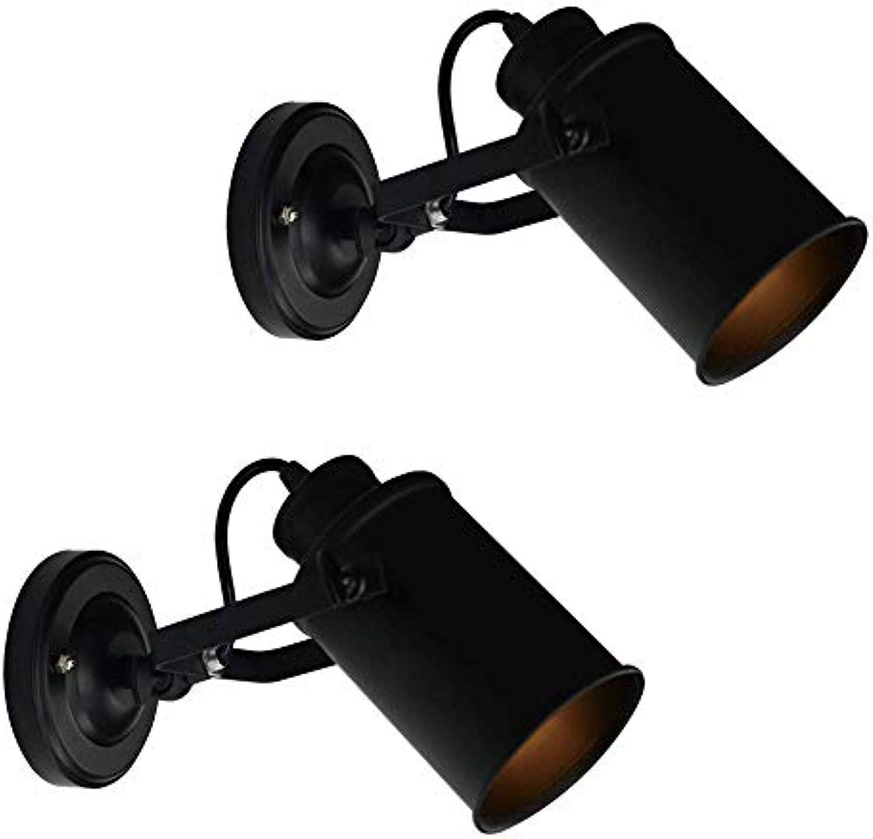 Moderne Adjustble Wandleuchte, LED Wandhalterung Leuchte für Lager Schlafzimmer Treppe Innenloft Lesesaal (UnitCount   2)