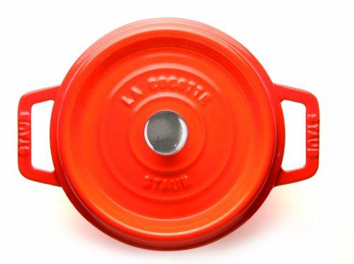 Staub 5-Quart Round Cocotte, Orange