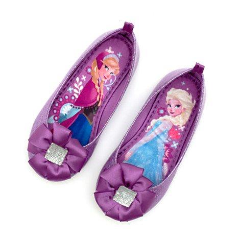 Ballerines , Chaussures Elsa de La Reine des Neiges - Disney pantoufle taille UK 13 ---- EU 32