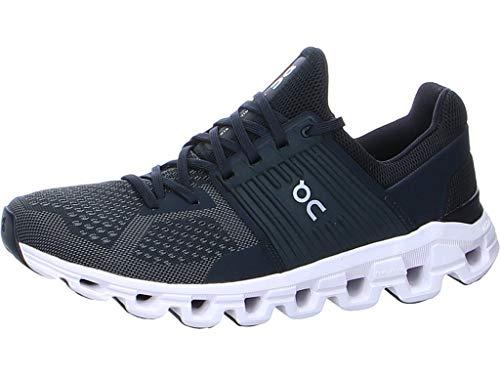 ON Cloudswift Running Shoe - Men's Black/Rock, 10.5