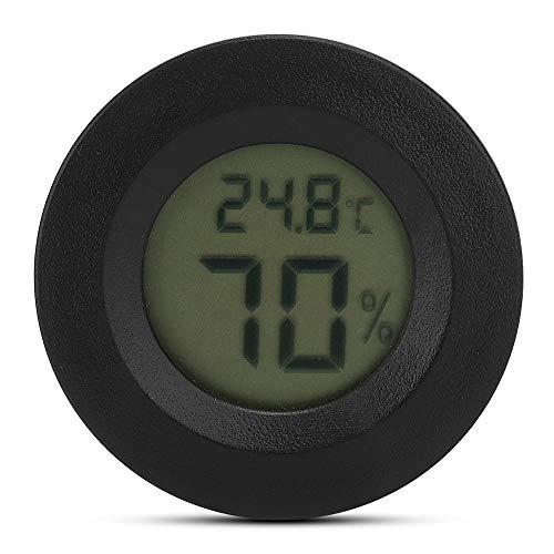 Jarchii Reptilien-Thermometer, Feuchtigkeitstemperaturmesser Stilvolles Reptilien-Thermometer-Hygrometer, eingebettete hochpräzise Haushaltsreptilien für Eidechsen