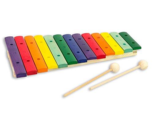 Goldon - Buntes Xylophon - Kinder-Xylofon Musik Musikunterricht Schule Instrument