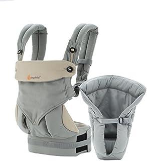 美国 Ergobaby 四式360背带加护垫套装-灰色BCII360AGRY(进口)