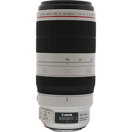Canon EF 100-400 mm f/4.5-5.6 L is II USM Objektiv für Kamera, Schwarz/Weiß (Generalüberholt)