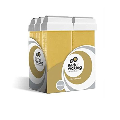 Honing Roll op Wax Cartridge 6 in een doos | Depilatory Cartridge | Professioneel | 6x100ml