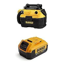DEWALT Cordless/Corded Wet-Dry Vacuum