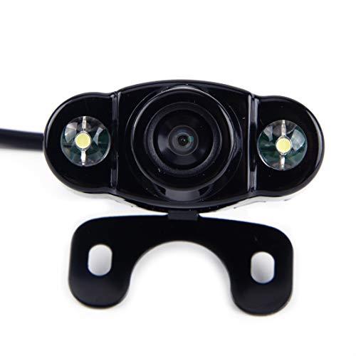 CITALL 2 LED 12V CCD 170 degrés Vision arrière Marche arrière caméra de recul Sauvegarde Vision Nocturne CMOS étanche