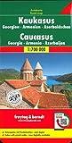 Freytag Berndt Autokarten, Kaukasus - Georgien - Armenien - Aserbaidschan -Maßstab 1:700.000