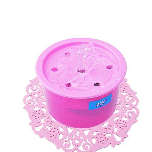 VJDS15 Dispensador De Agua para Mascotas Eléctrico USB Cat Máquina De Agua De Circulación Automática Dispensador De Agua Fuente para Perros De Oxígeno Activo Absorbedor De Agua De Tres Colores