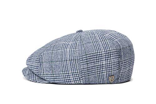 BRIXTON Headwear Brood SNAP Cap, Gewashen Navy/Aluminium, XL, 00006