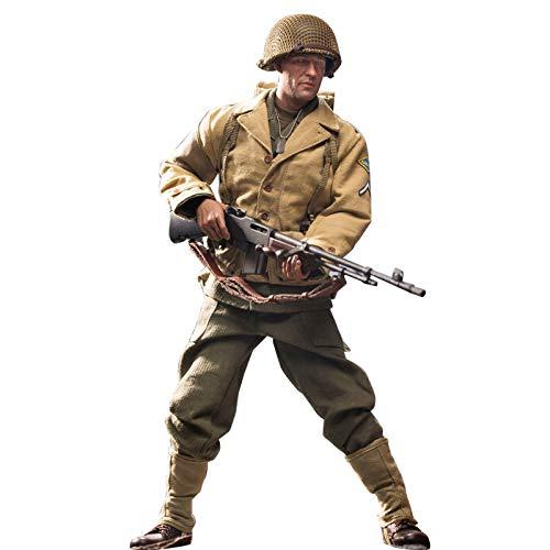 Mecotecn 1/6 soldier figures, WW2 US soldier toy figures, military figures, action figures, model - Rangers Lance Corporal